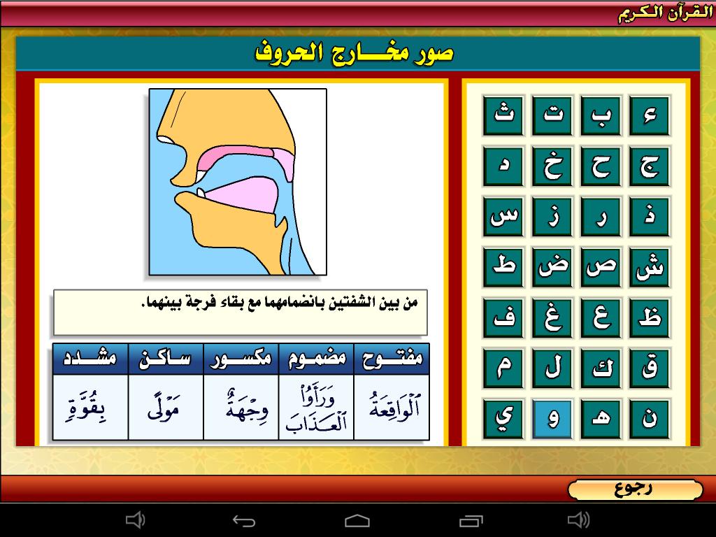 برنامج احكام القران والتجويد الدرس الأول  لشيخ شرمارك محمود ناصر